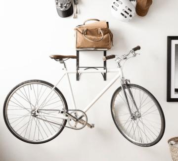 Racked-bike